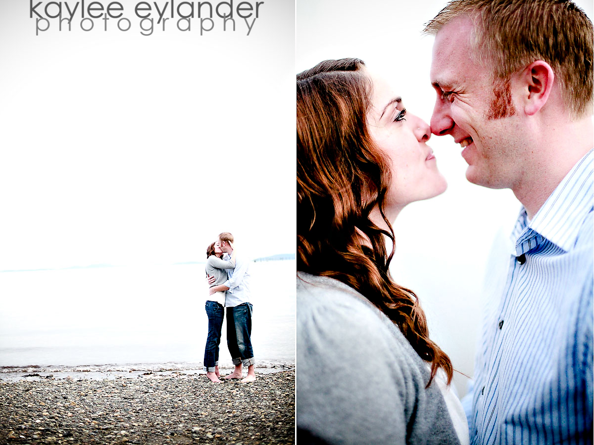 AMY DANA 32 Bellingham Wedding Photographer | Amy & Dana K.I.S.S.ing in the tree | Kaylee Eylander