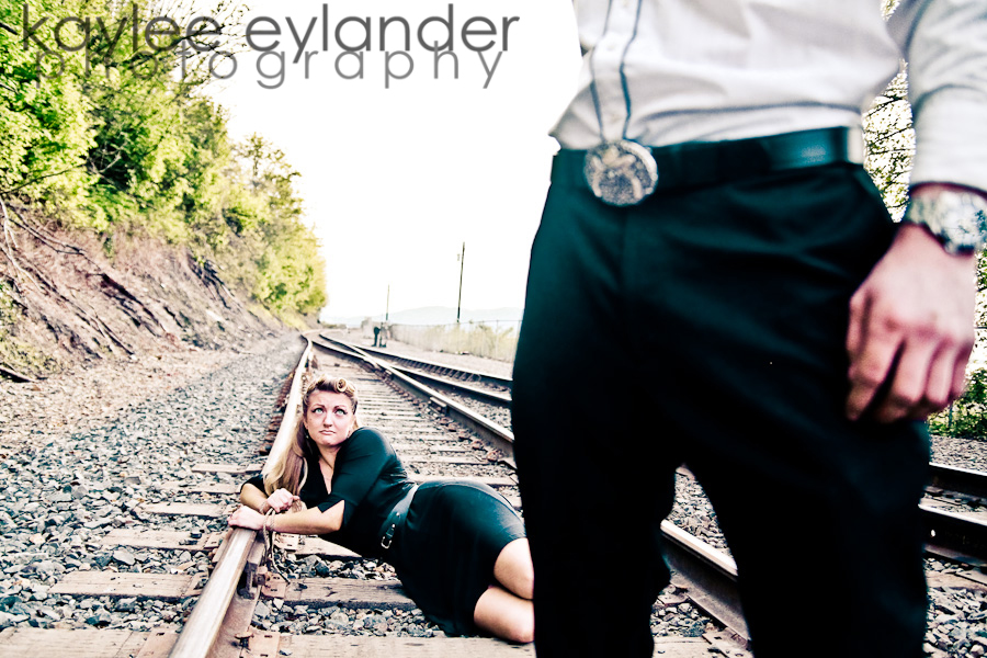 Cat todd 37 Bellingham Engagement Session: Bowling, Railroads and Water, Oh My! | Kaylee Eylander Photography
