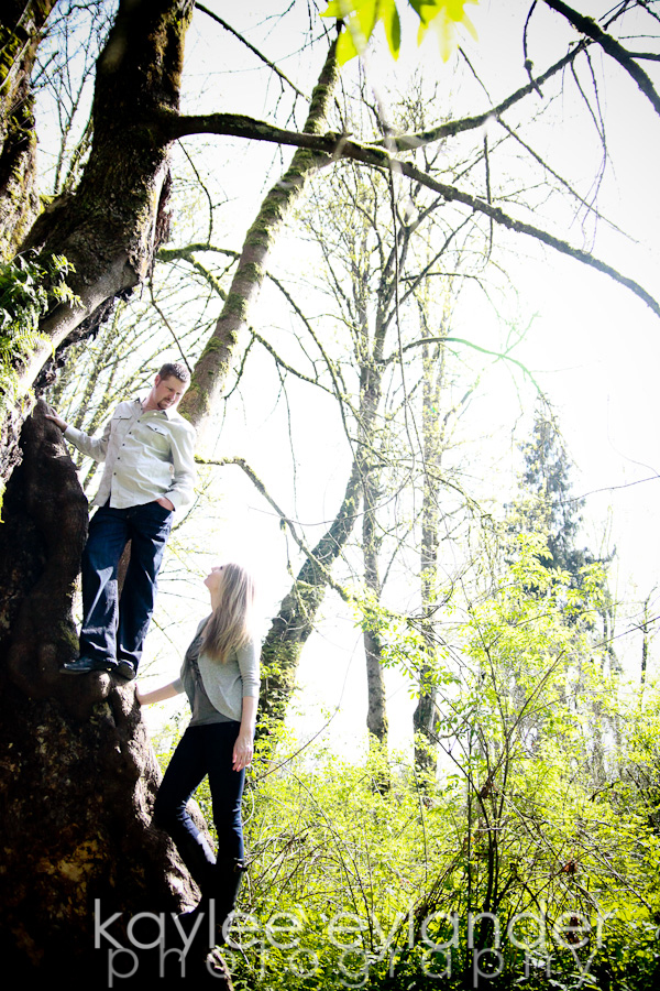 Trish Phil 29 Snohomish Wedding Photographer | Park Engagement Session Sneak Peek