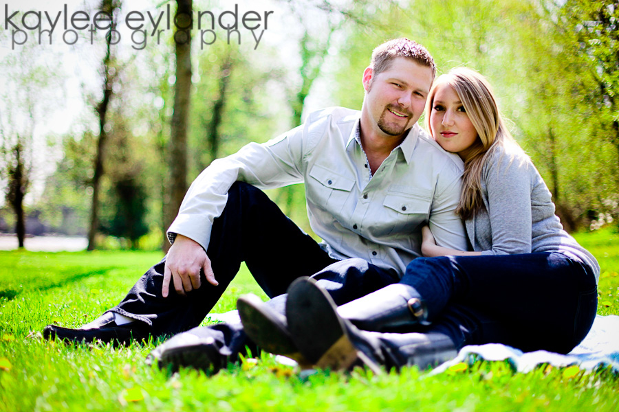 Trish Phil 7 Snohomish Wedding Photographer | Park Engagement Session Sneak Peek