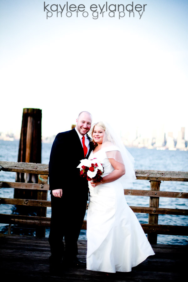 rachel sean 13 Seattle Wedding Photographer | Rachel & Sean : Wedding at Salty's on Alki Sneak Peek!