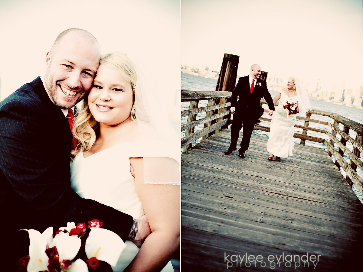 rachel sean 15 Seattle Wedding Photographer | Rachel & Sean : Wedding at Salty's on Alki Sneak Peek!