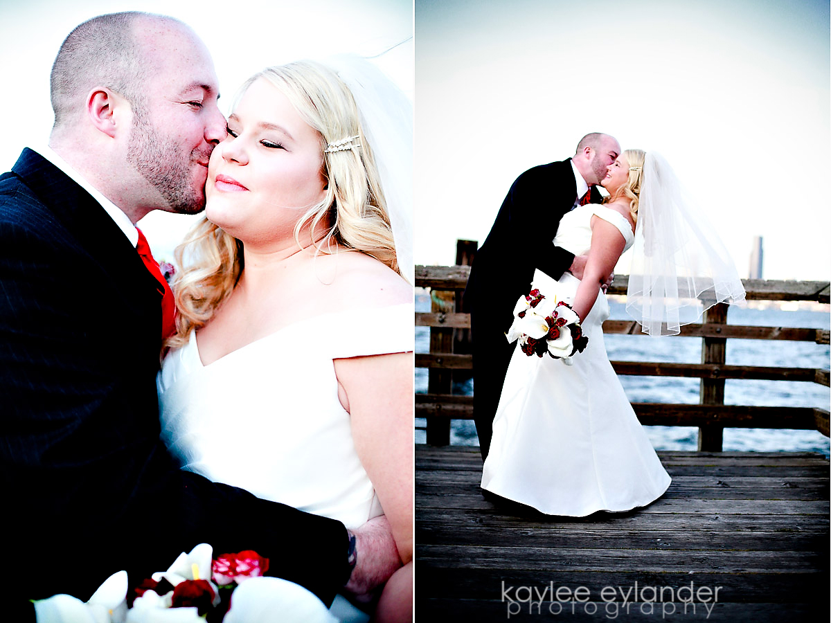 rachel sean 16 Seattle Wedding Photographer | Rachel & Sean : Wedding at Salty's on Alki Sneak Peek!