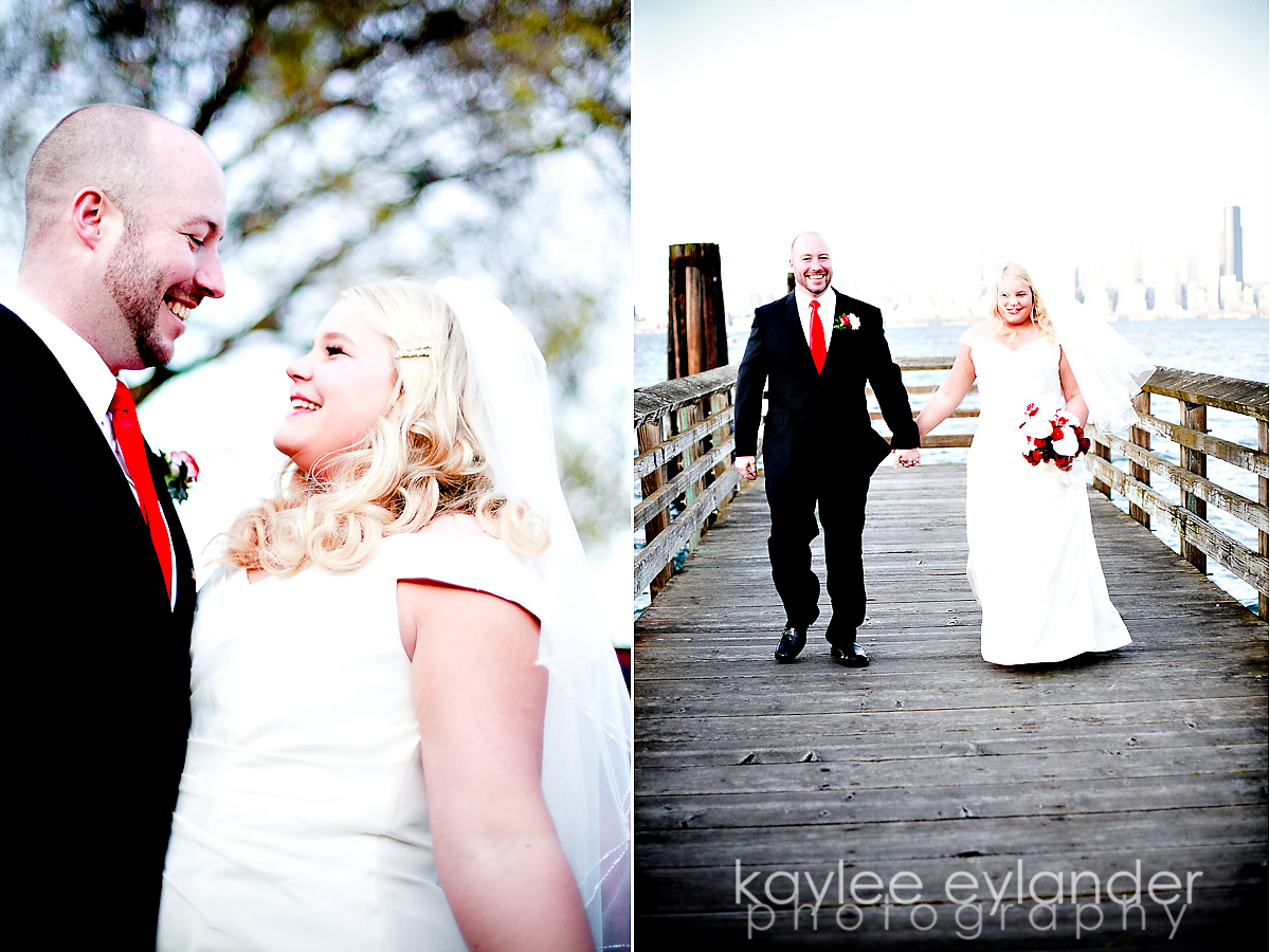 rachel sean 9 Seattle Wedding Photographer | Rachel & Sean : Wedding at Salty's on Alki Sneak Peek!