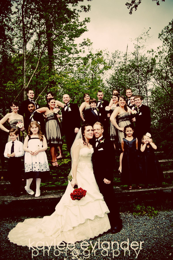 Wedding Party 10 Snohomish Wedding Photographer | Cute Dresses and Bow ties for the guys!