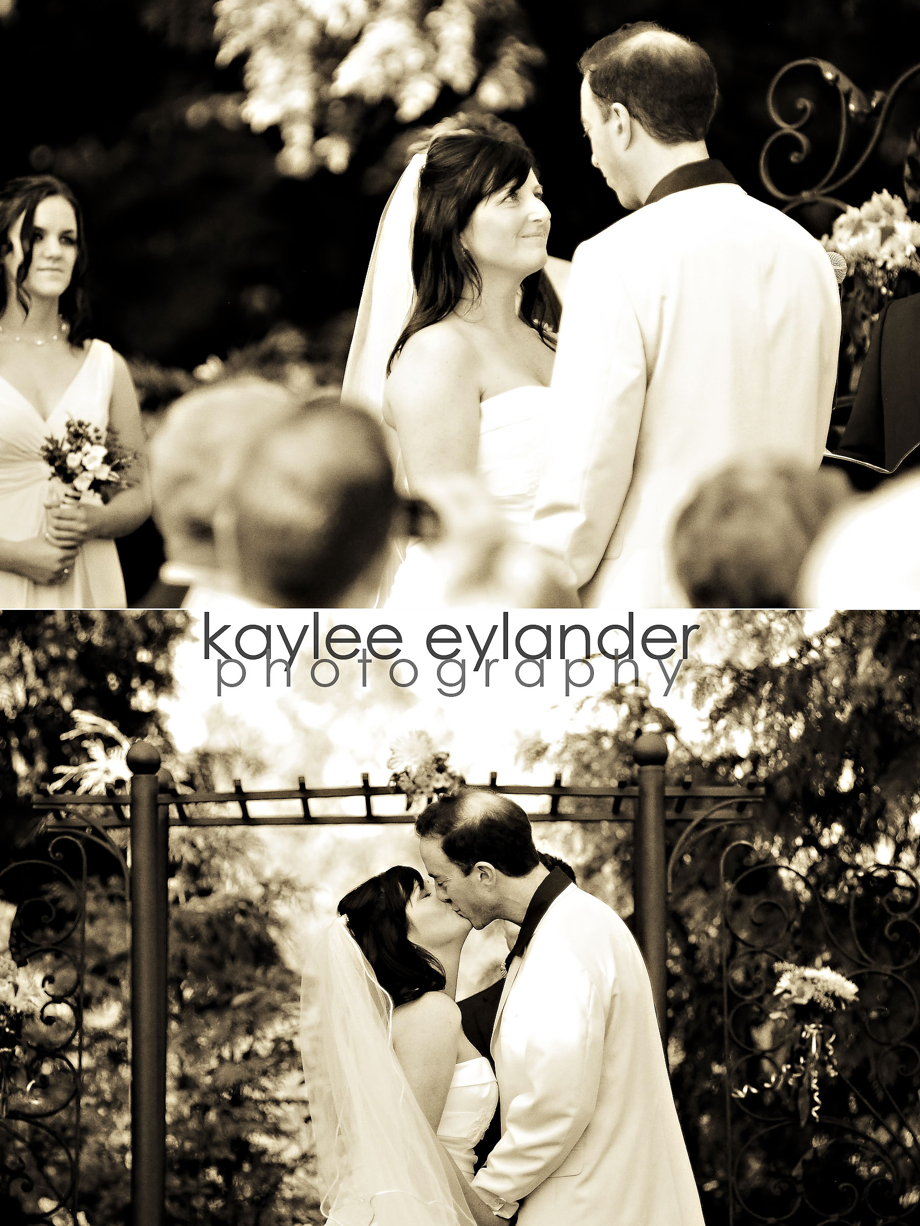 Ceremony 4 DIY Modern Vintage Wedding....gotta love it! | Kaylee Eylander Photography