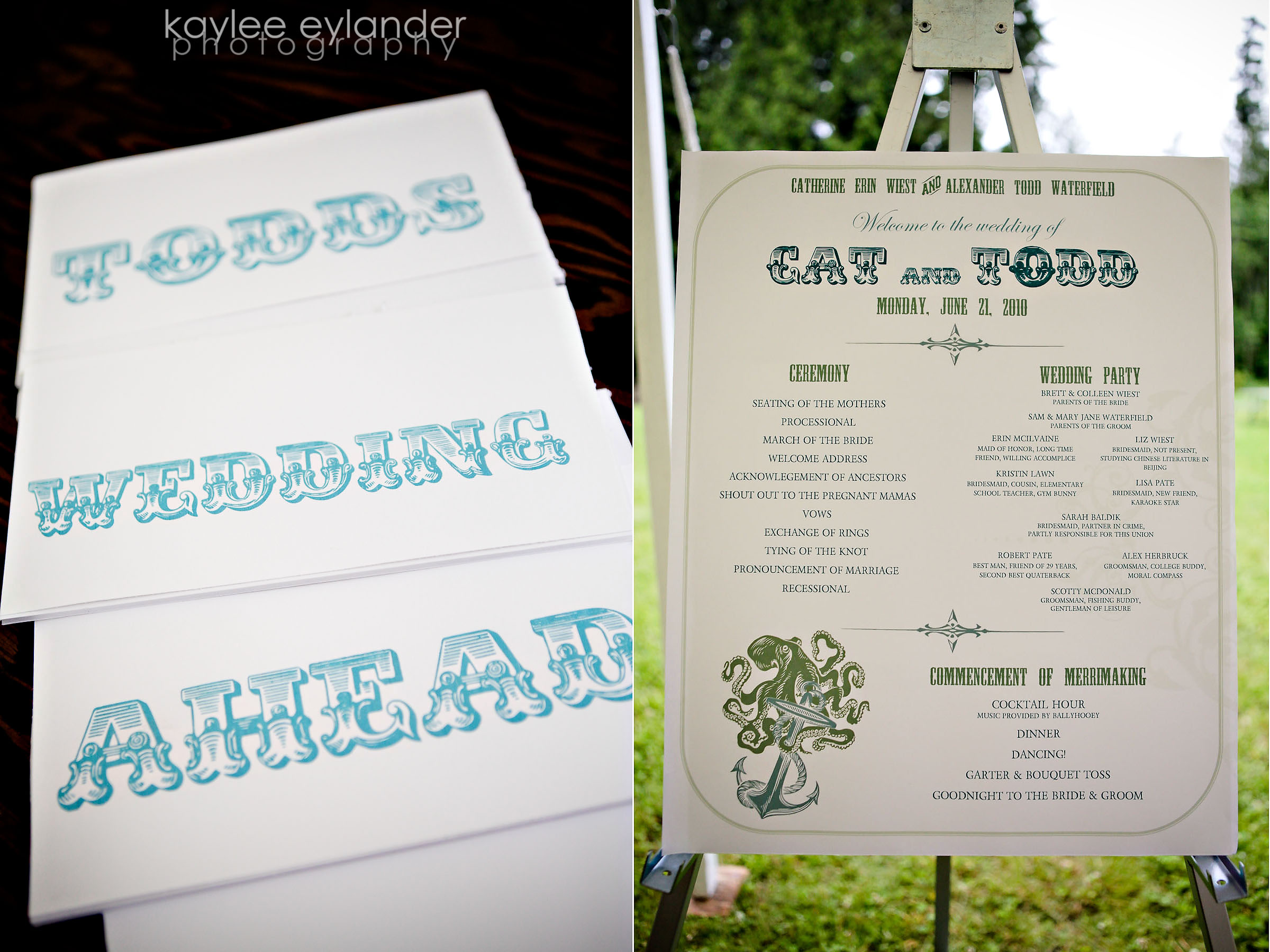 Details 15 Ocean Themed Wedding...and why you could use a great wedding planner for your wedding! | Kaylee Eylander