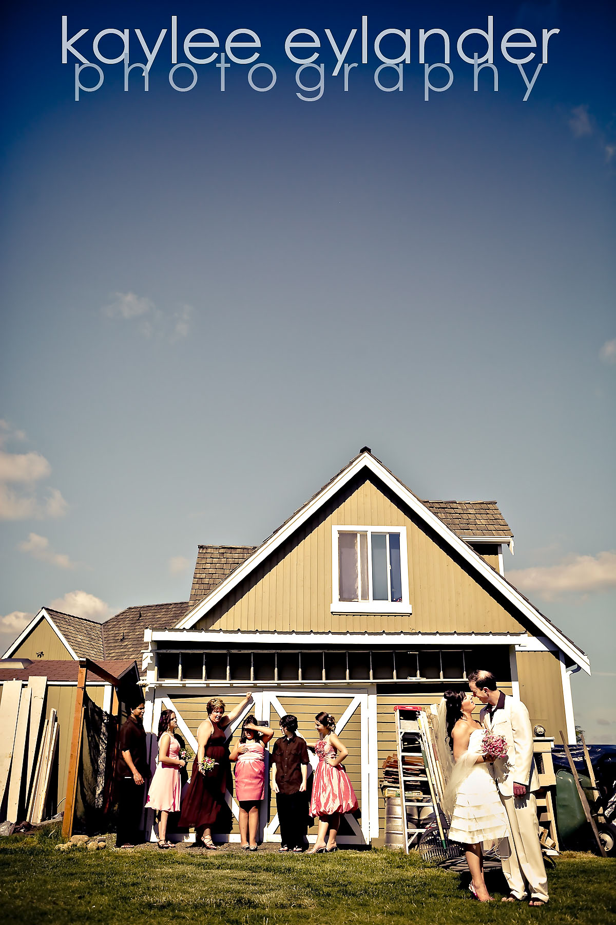 Wedding party 11 DIY Modern Vintage Wedding....gotta love it! | Kaylee Eylander Photography