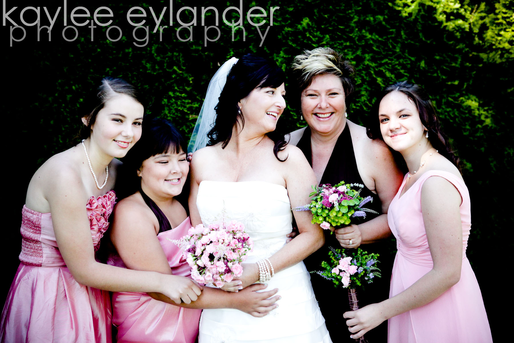 Wedding party 2 DIY Modern Vintage Wedding....gotta love it! | Kaylee Eylander Photography