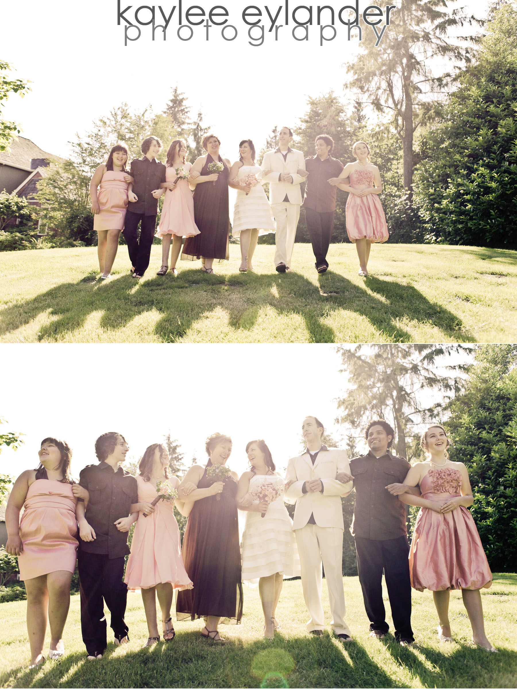 Wedding party 8 DIY Modern Vintage Wedding....gotta love it! | Kaylee Eylander Photography