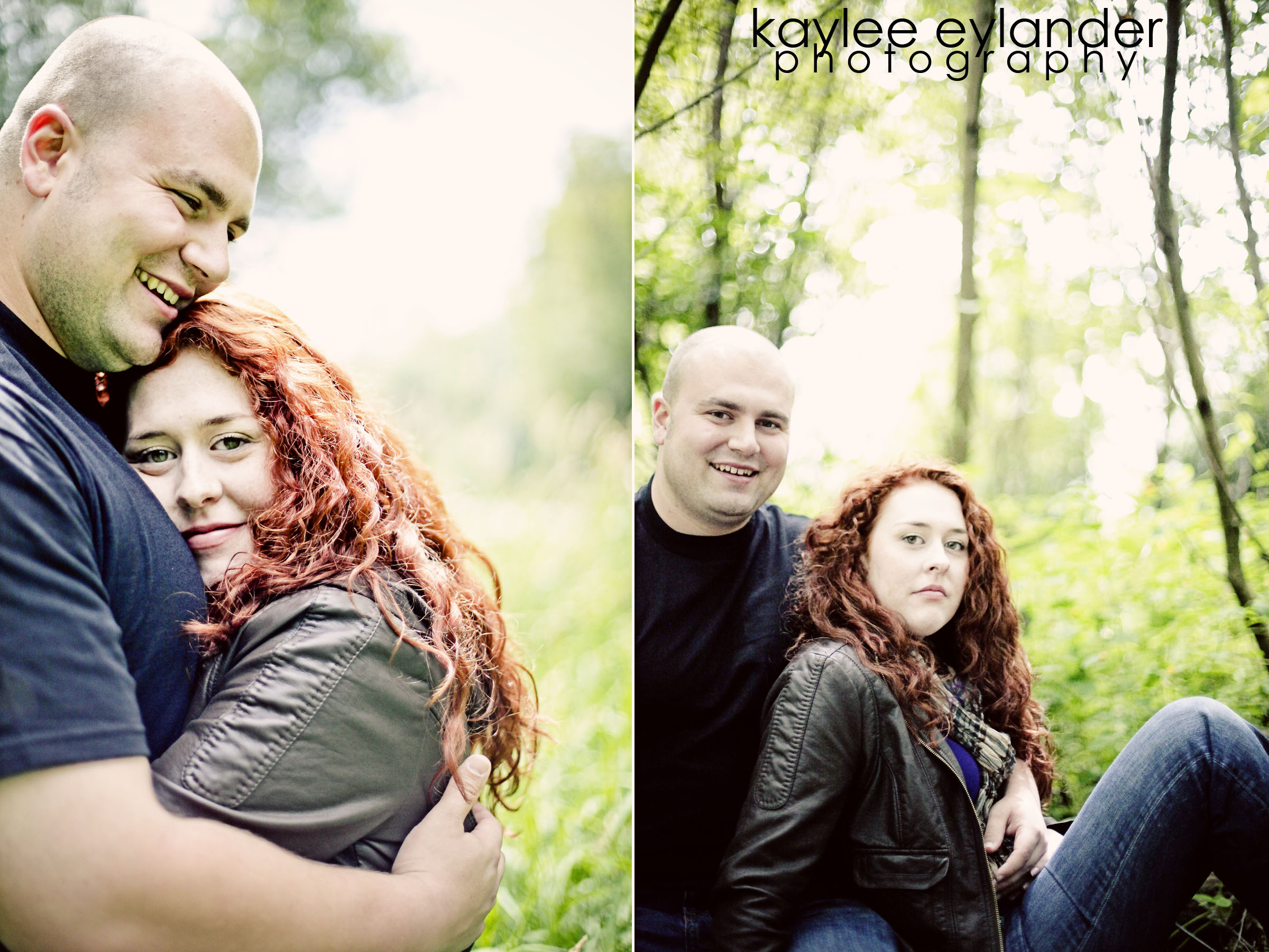 Meghann Rick 10 In The Trees| Engagement Session in the Forest | Eylander