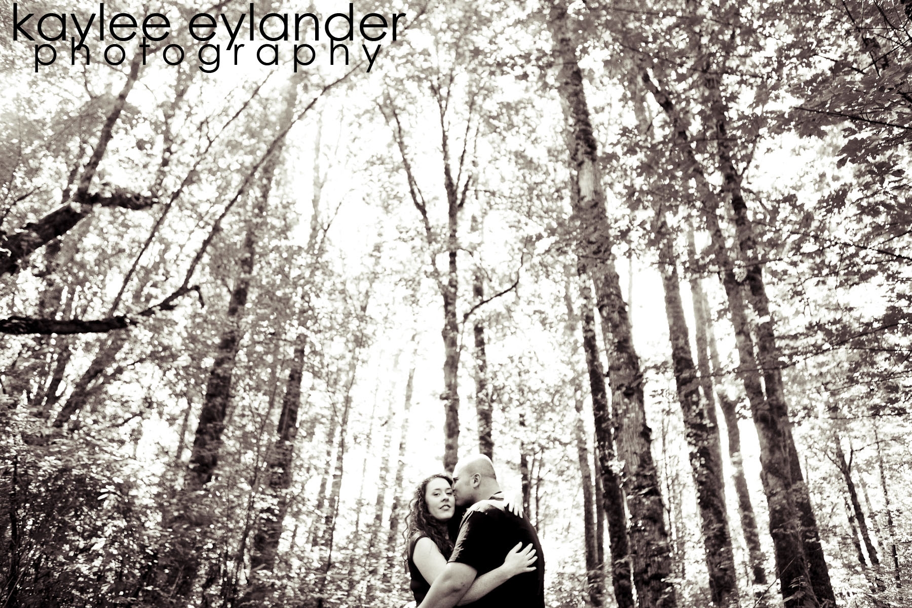 Meghann Rick 26 In The Trees| Engagement Session in the Forest | Eylander