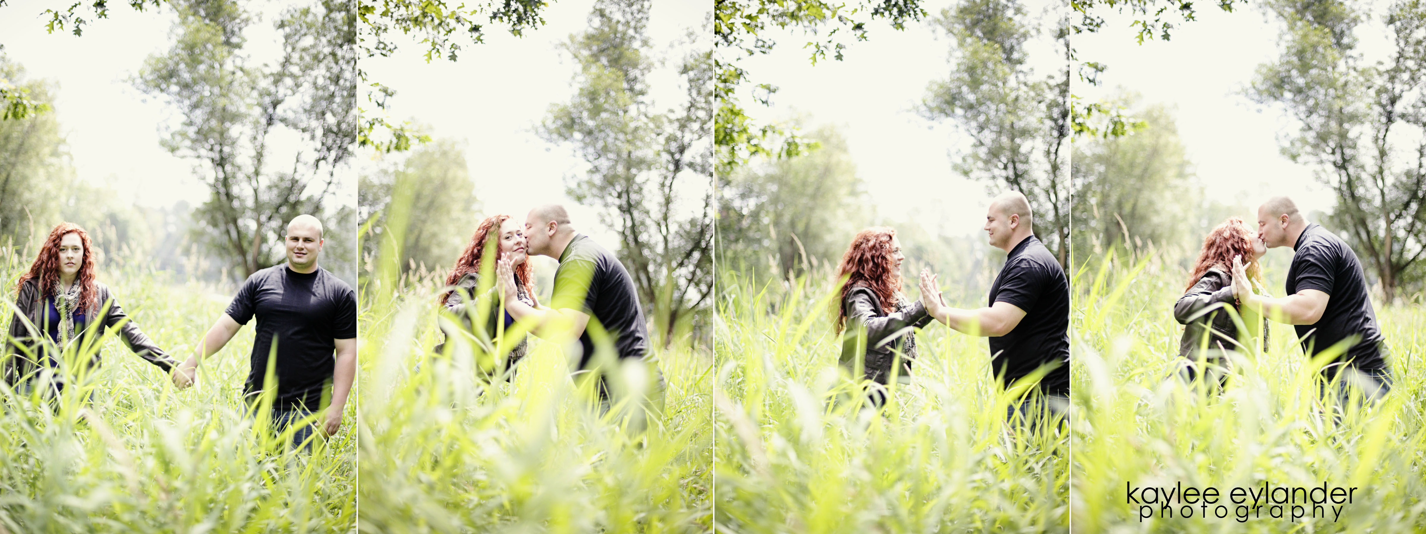 Meghann Rick 5 In The Trees| Engagement Session in the Forest | Eylander