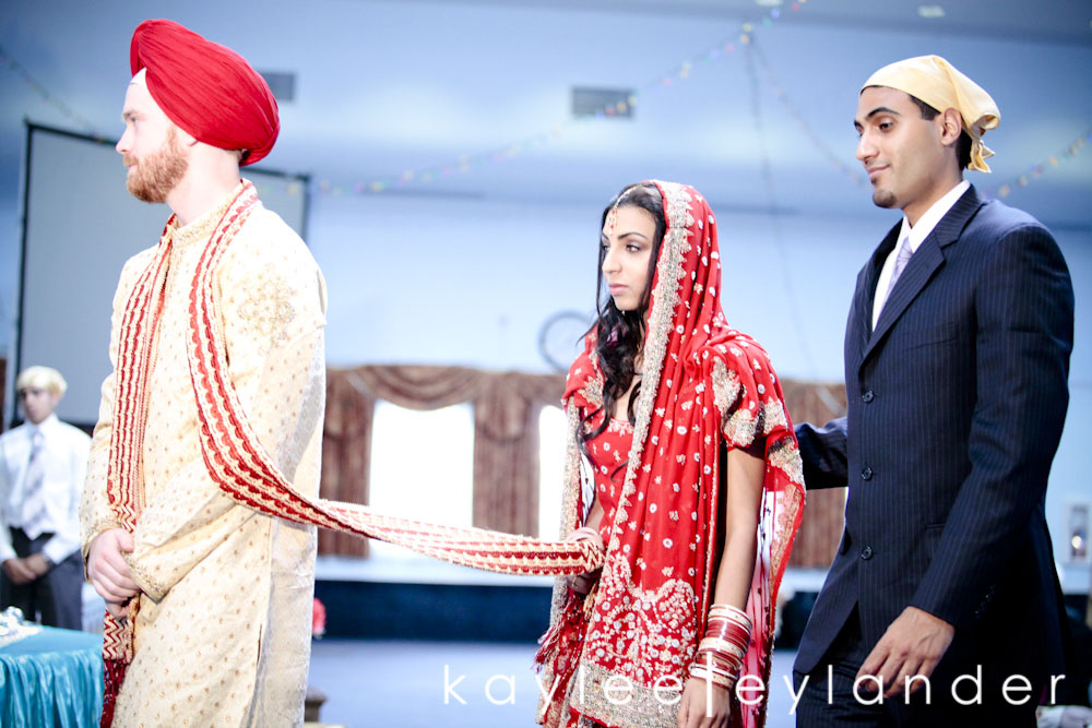 Sikh ceremony0026 Joe & Sharon | Sikh Indian Wedding | Seattle Wedding Photographer