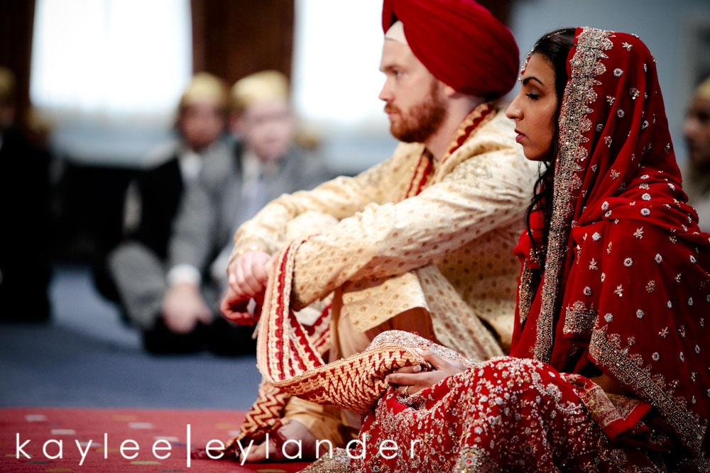 Sikh ceremony0027 Joe & Sharon | Sikh Indian Wedding | Seattle Wedding Photographer
