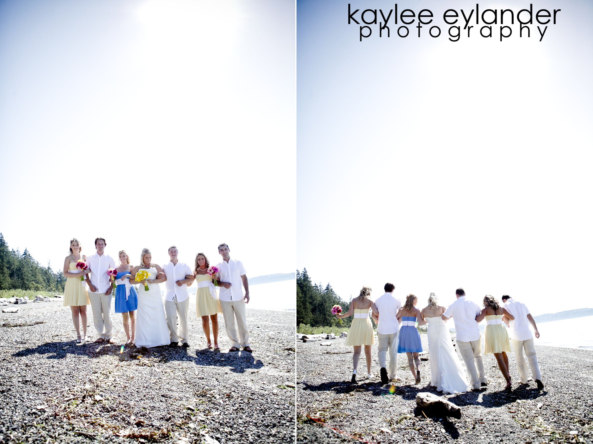wedding party 20 Camano Island Beach Wedding | Jamie & David | Destination Wedding Photographer
