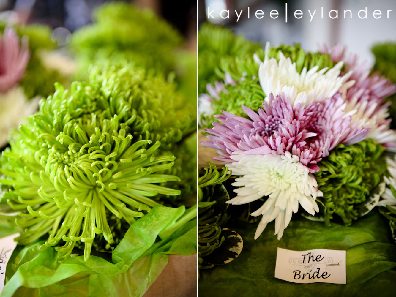 00043 Everett Train Station Wedding | Grey Tuxes & Green Flowers! | Seattle Wedding Photographers