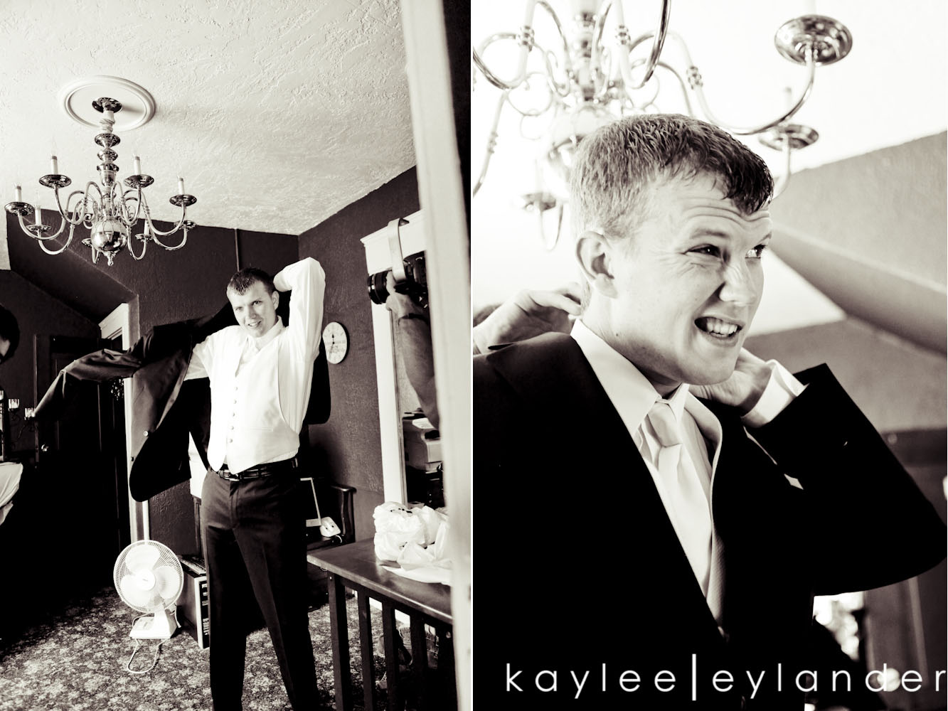 00181 Apricot Bouquets & Dancing Lessons for the Guests | Marysville Opera House Wedding