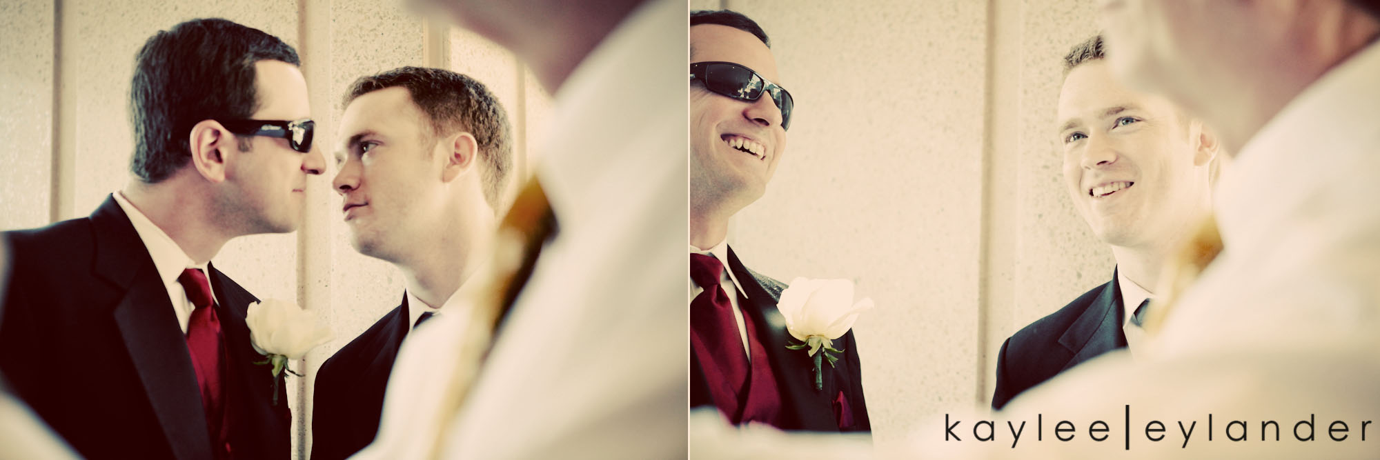 00221 Seattle World Trade Center Wedding | Red Roses and Sunshine!  | Seattle Wedding Photographers