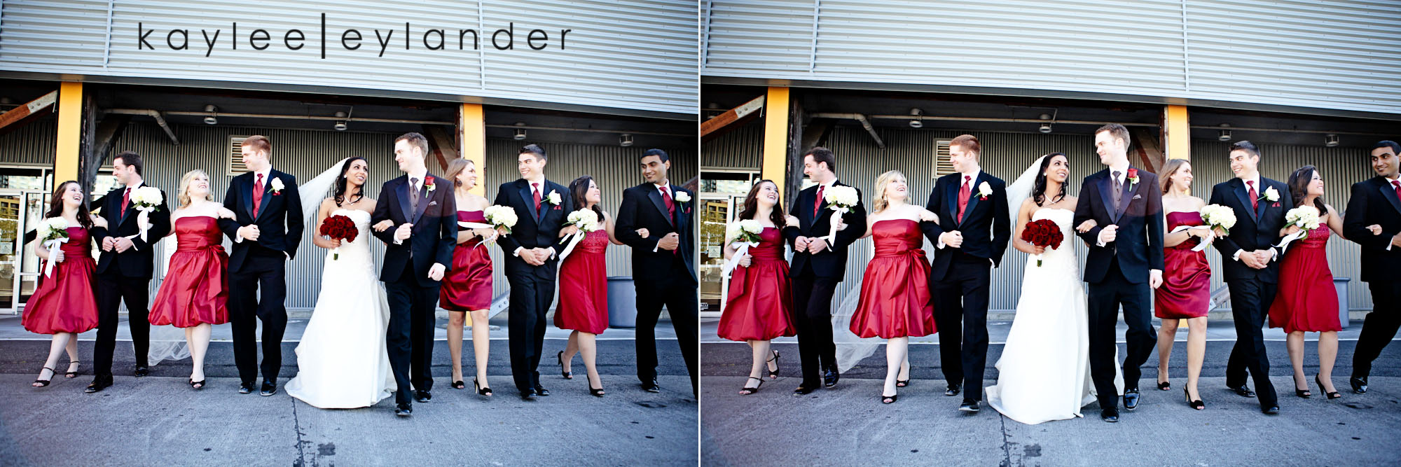 0307 Seattle World Trade Center Wedding | Red Roses and Sunshine!  | Seattle Wedding Photographers