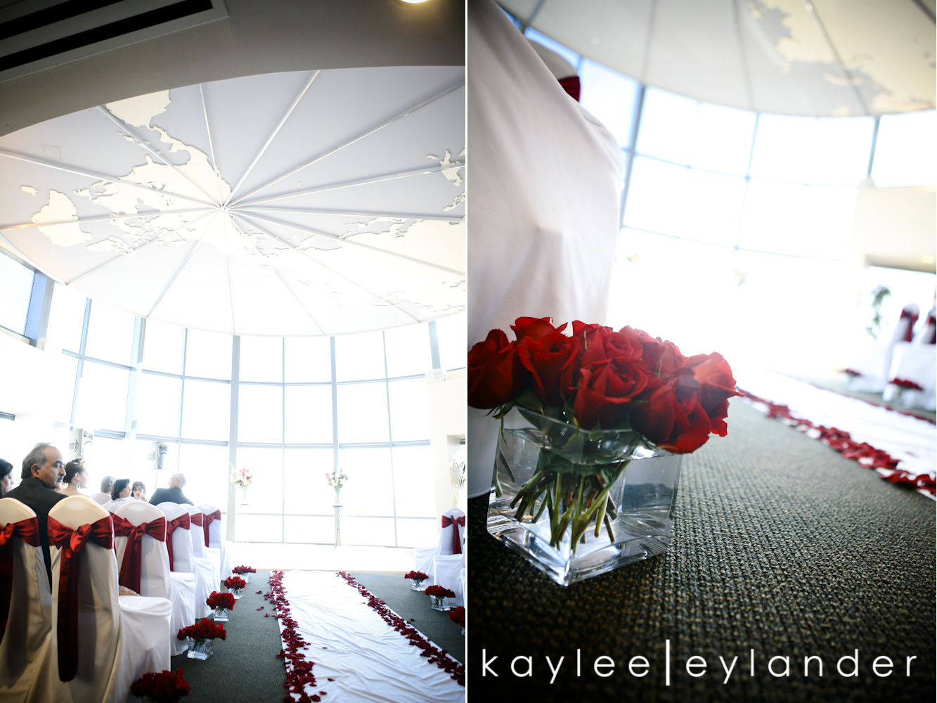 0500 Seattle World Trade Center Wedding | Red Roses and Sunshine!  | Seattle Wedding Photographers