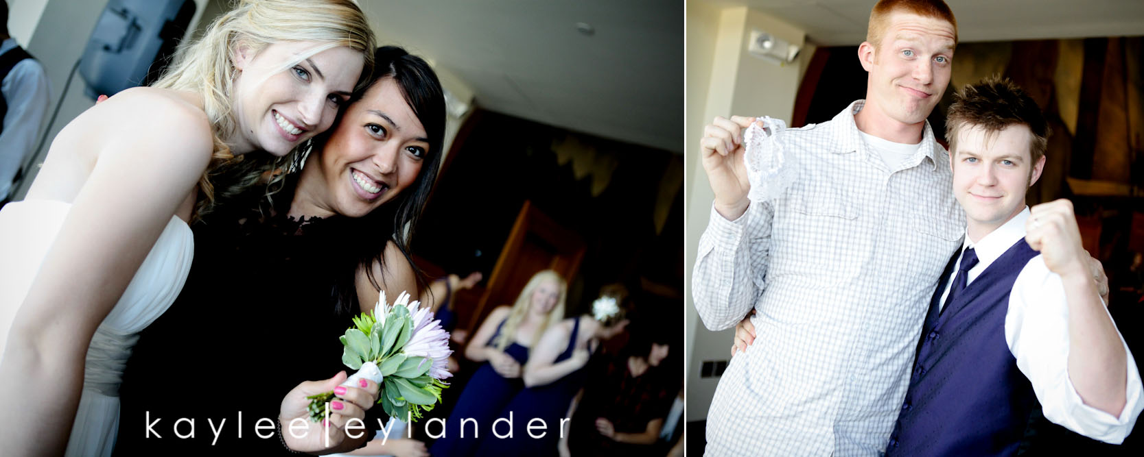 0629 Everett Train Station Wedding | Grey Tuxes & Green Flowers! | Seattle Wedding Photographers