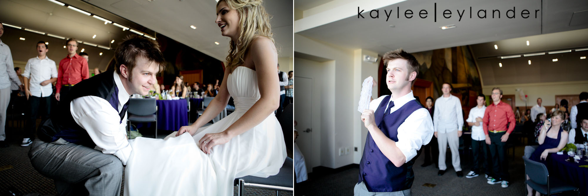 0630 Everett Train Station Wedding | Grey Tuxes & Green Flowers! | Seattle Wedding Photographers