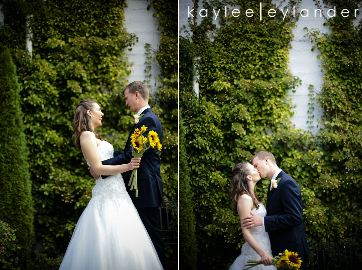 amanda andrew0001 Sunflowers, Ivy & Love | Marysville Opera House Wedding | Kaylee Eylander