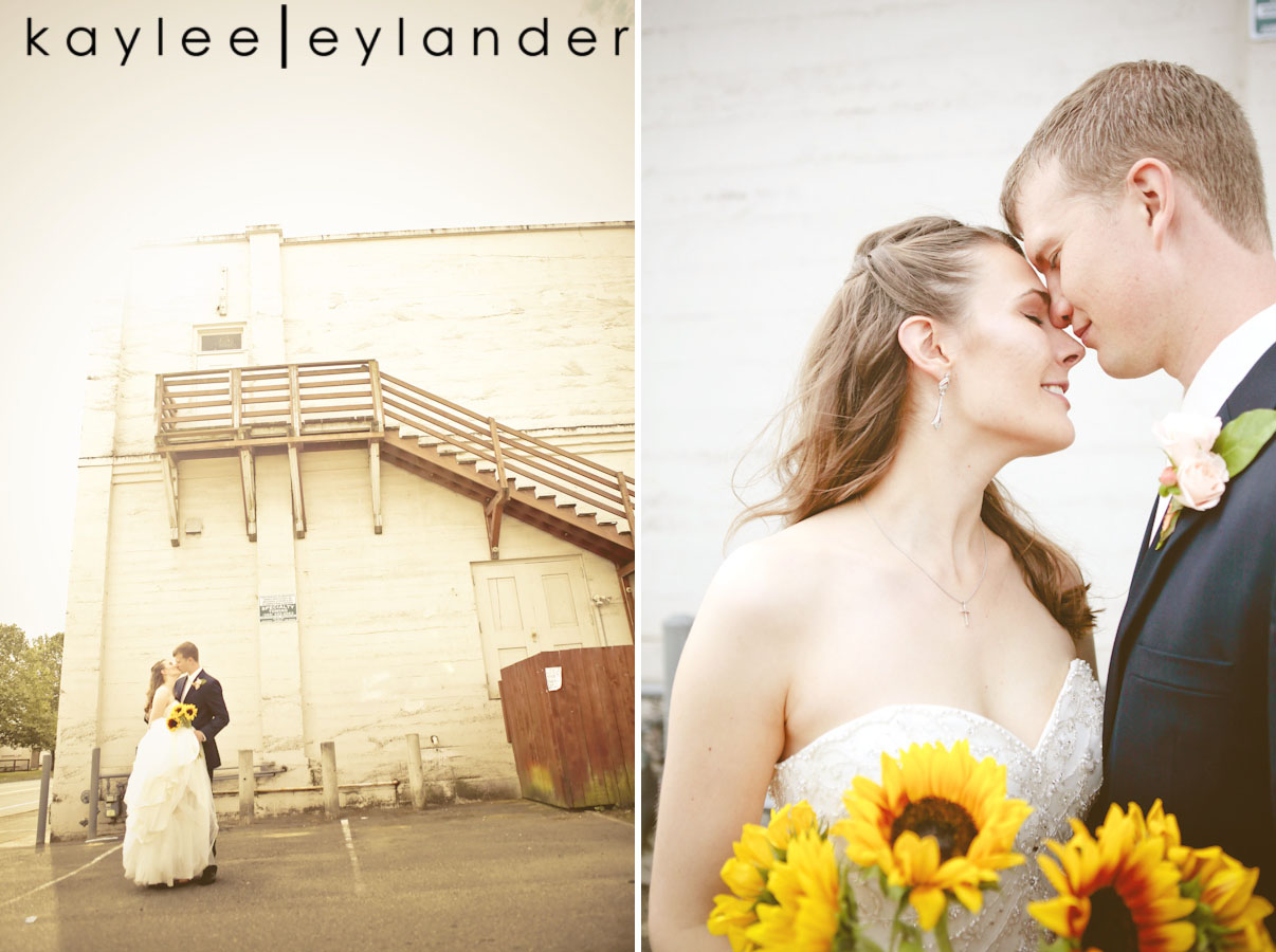 amanda andrew0018 Sunflowers, Ivy & Love | Marysville Opera House Wedding | Kaylee Eylander