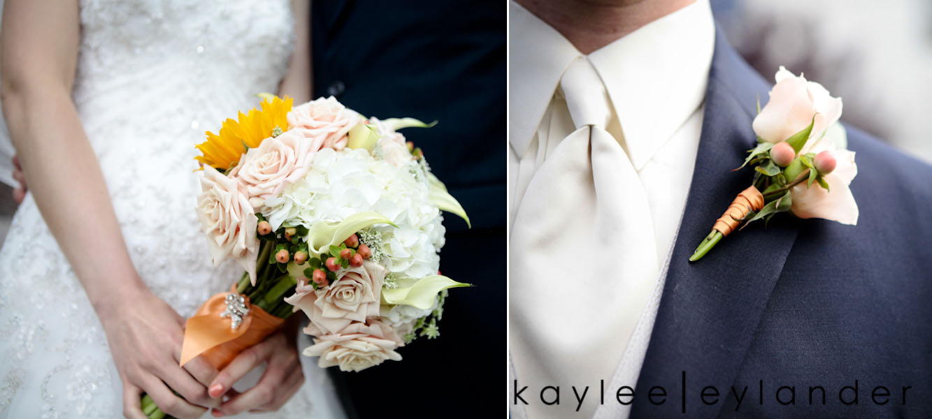 amanda andrew0024 Sunflowers, Ivy & Love | Marysville Opera House Wedding | Kaylee Eylander