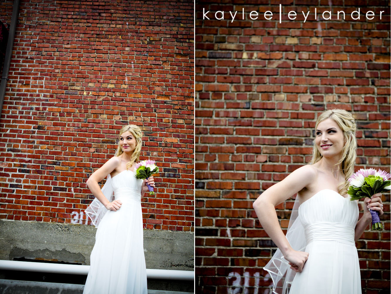 wedding party seattle photographer0214 Everett Train Station Wedding | Grey Tuxes & Green Flowers! | Seattle Wedding Photographers