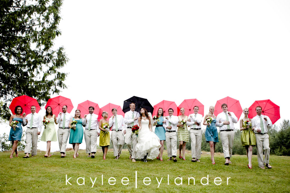 wedding party web0253 Bellingham DIY Wedding | A Wedding in the rain never looked so good!| Kaylee Eylander
