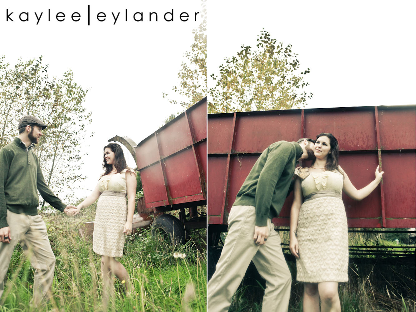 00261 Engagement Session in Snohomish | Quirky, Fun and a Little Random