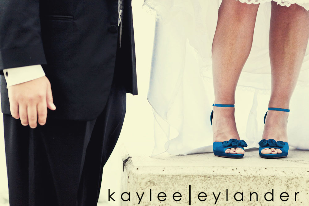 0409 Bellingham Ferry Terminal Wedding | Peacock Feathers and Turquoise Wedding Shoes!