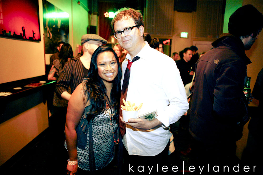 Rainn Wilson After Party0037 Rainn Wilson & Craig Robinson....Benefit for Mona Foundation | Seattle Event Photographers