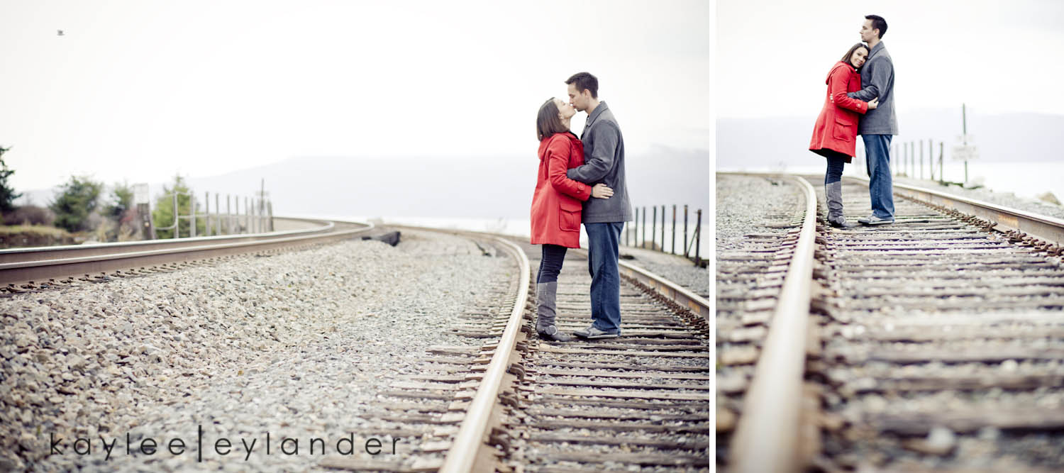 Aisha Brent Engagement0026 Bellingham Engagement Session | I heart Fairhaven! | Kaylee Eylander
