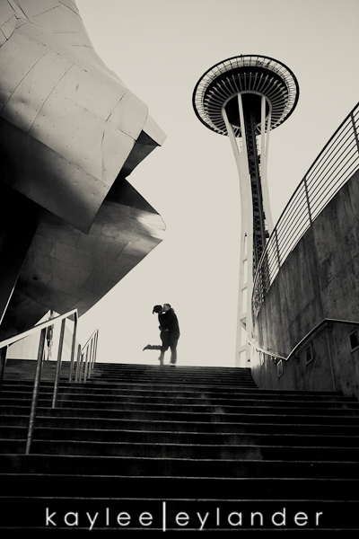 Seattle EMP Engagement Session0023 Heather Loves Kenny! Emp & Pike Place Engagement Session