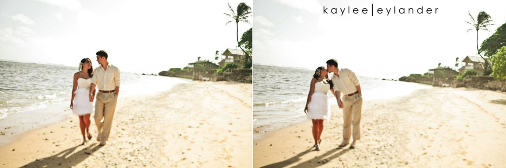 kauai wedding day after session 10 1024x341 Kauai Wedding Day After Session | Palms, Sand and Goofy Glasses