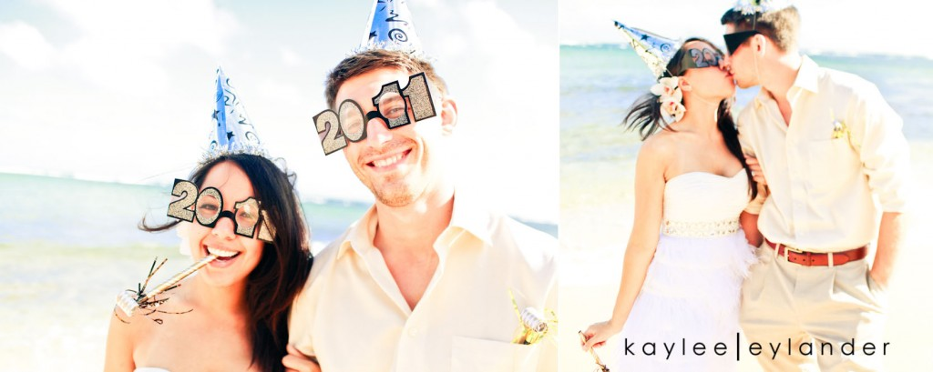 kauai wedding day after session 35 1024x409 Kauai Wedding Day After Session | Palms, Sand and Goofy Glasses