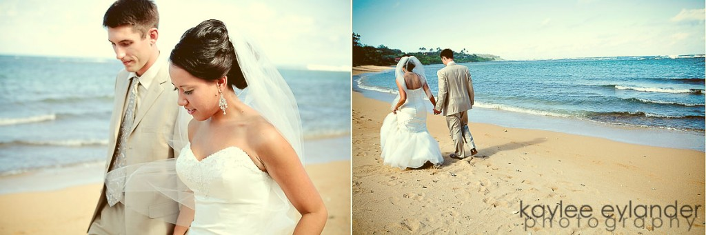 kaylee eylander kauai beach wedding 3 1024x341 Kauai Destination Wedding Photographer | Getting Married in Paradise!