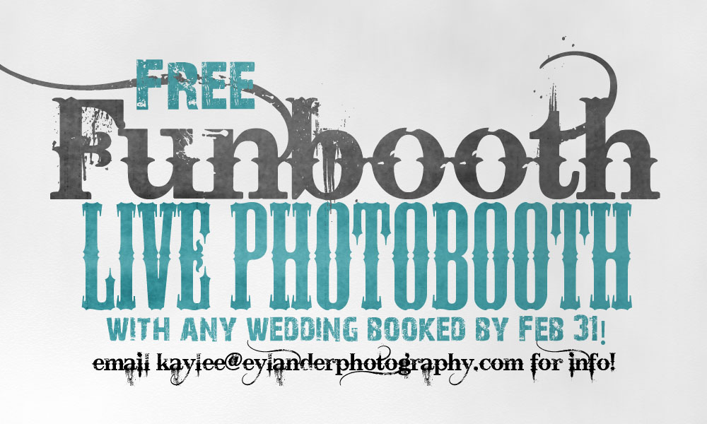 photobooth ad 2011 Free FunBooth with Any Wedding | Wedding Special Deal!