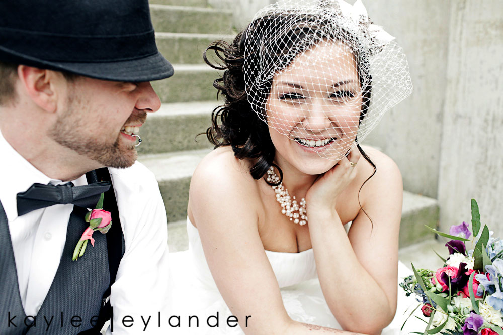 Bellingham Vintage Wedding 21 50s Vintage & Birdcage Veil | Modern Bellingham Wedding Photography