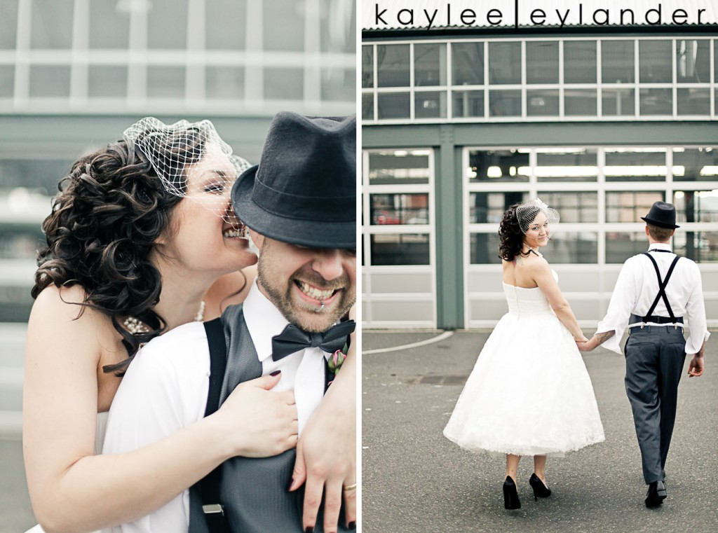 Bellingham Vintage Wedding 27 1024x761 50s Vintage & Birdcage Veil | Modern Bellingham Wedding Photography
