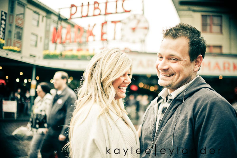 60 Pike Place & Rainier Beach Engagement Session | Snohomish Wedding Photographer