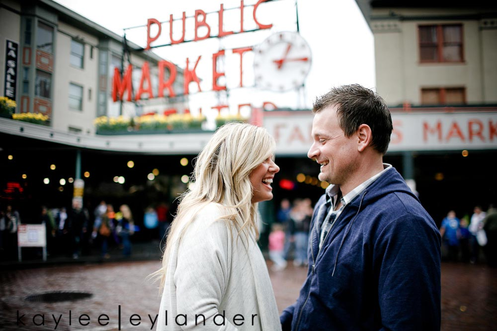 61 Pike Place & Rainier Beach Engagement Session | Snohomish Wedding Photographer