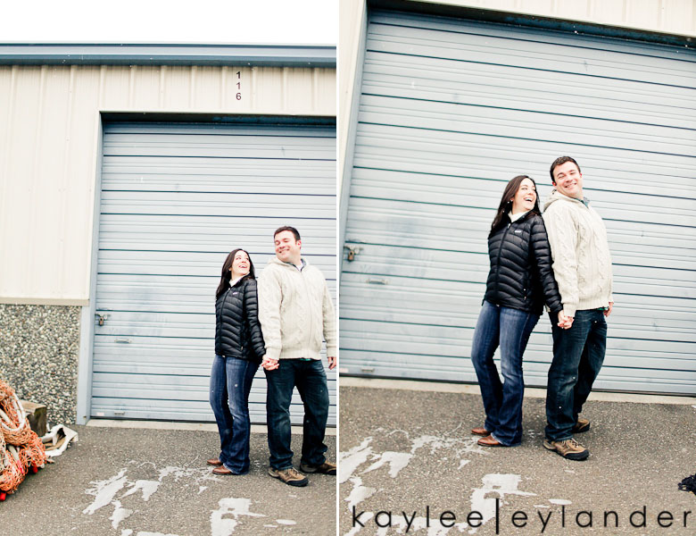 Bellingham Engagement Marina 18 Bellingham Engagement Session | Snow, Boats and Summer Camp