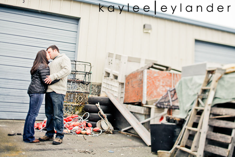 Bellingham Engagement Marina 22 Bellingham Engagement Session | Snow, Boats and Summer Camp