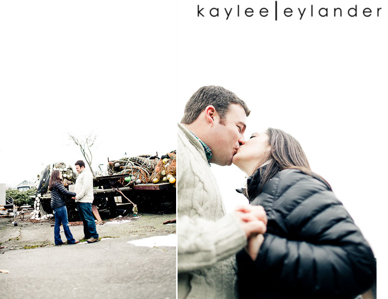 Bellingham Engagement Marina 36 Bellingham Engagement Session | Snow, Boats and Summer Camp