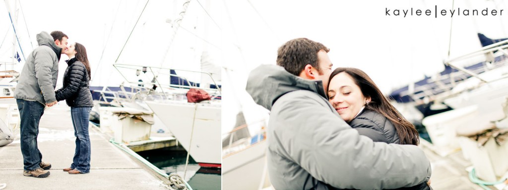 Bellingham Engagement Marina 40 1024x384 Bellingham Engagement Session | Snow, Boats and Summer Camp