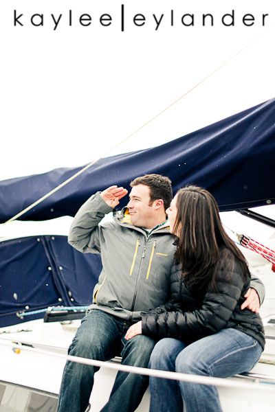 Bellingham Engagement Marina 44 Bellingham Engagement Session | Snow, Boats and Summer Camp
